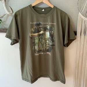 Vintage Duck Dynasty Legends of the Fowl Tee
